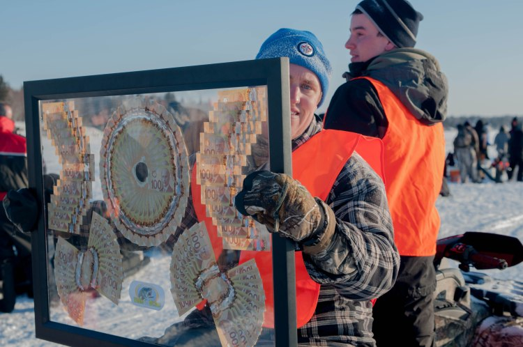 The Falcon Lake Winter Fish-Off has many great prizes including $10,000 cash for first place!