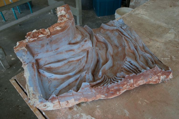 Post Foundations-Plaster Cast