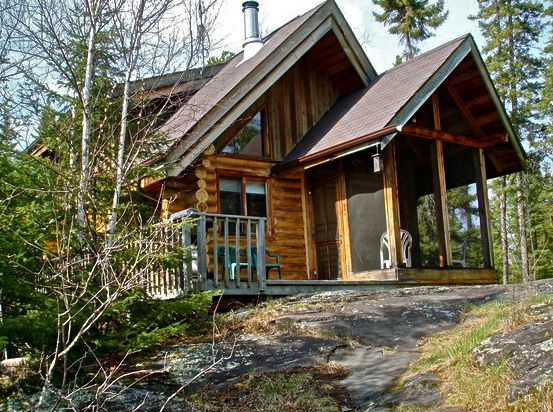 One of the cabins available for rent at the Falcon Beach Ranch. Photo from the Cottager.