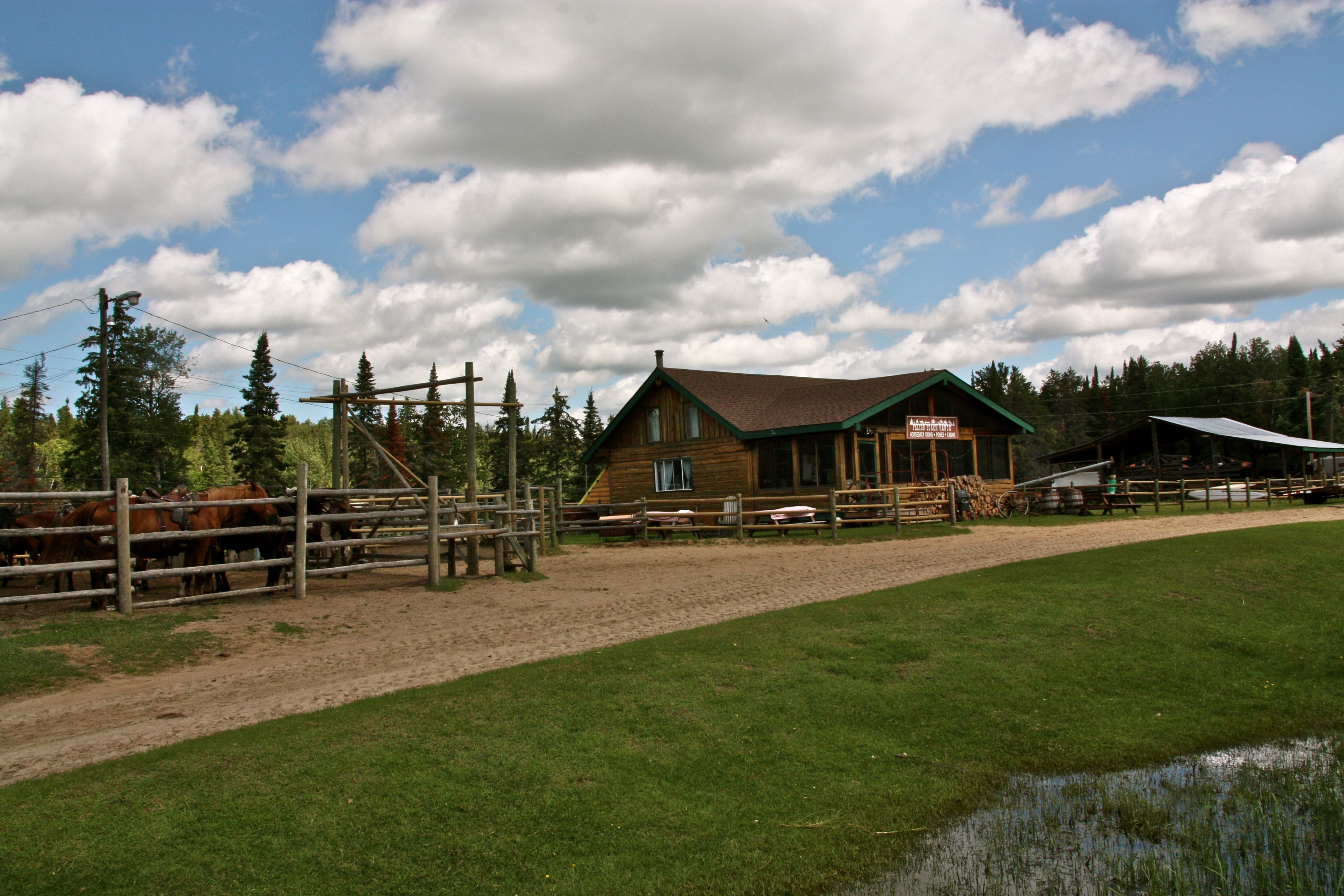Superb img of Whiteshell Business: Falcon Beach Ranch Experience the Whiteshell with #373A16 color and 4272x2848 pixels