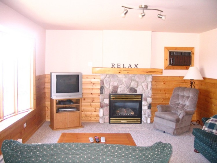 Living room of the Lodge Cottage