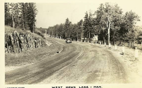 West Hawk Lake road.